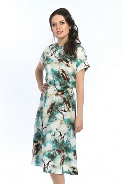 Платье из вискозы , П-500/6