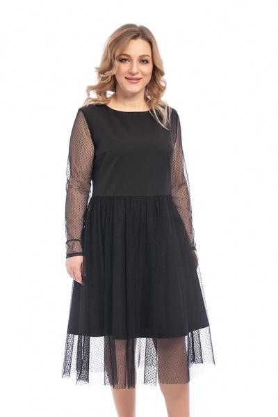 Платье с сеткой, П-534