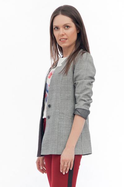Жакет из костюмной ткани, Ж-513